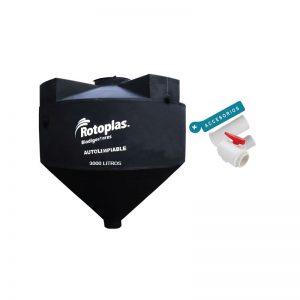 Biodigestor de 3000LT Ful Equipo Rotoplas