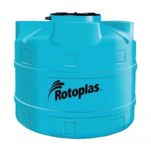Cisterna de 2500LT Rotoplas