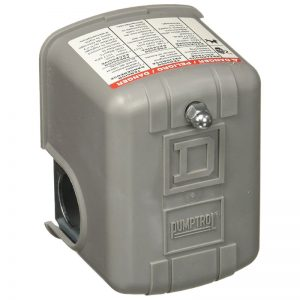 Switch de Presion 20-40PSI para bombas hasta 1.5HP SQUARD