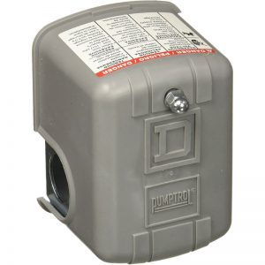Switch de Presion 30-50PSI para bombas hasta 2HP SQUARD